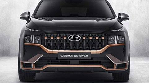 Giá xe Hyundai santafe 2021
