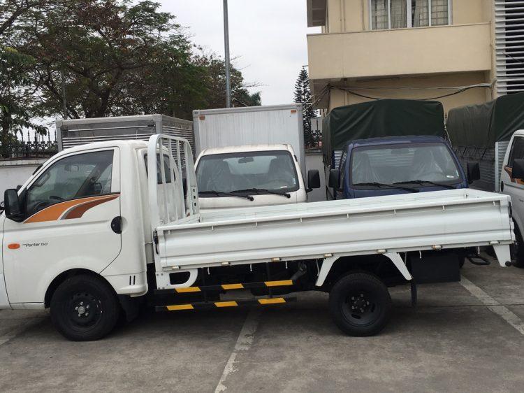 Hyundai xe tải 1.5 tấn H150 Porter – thùng bạt 2020