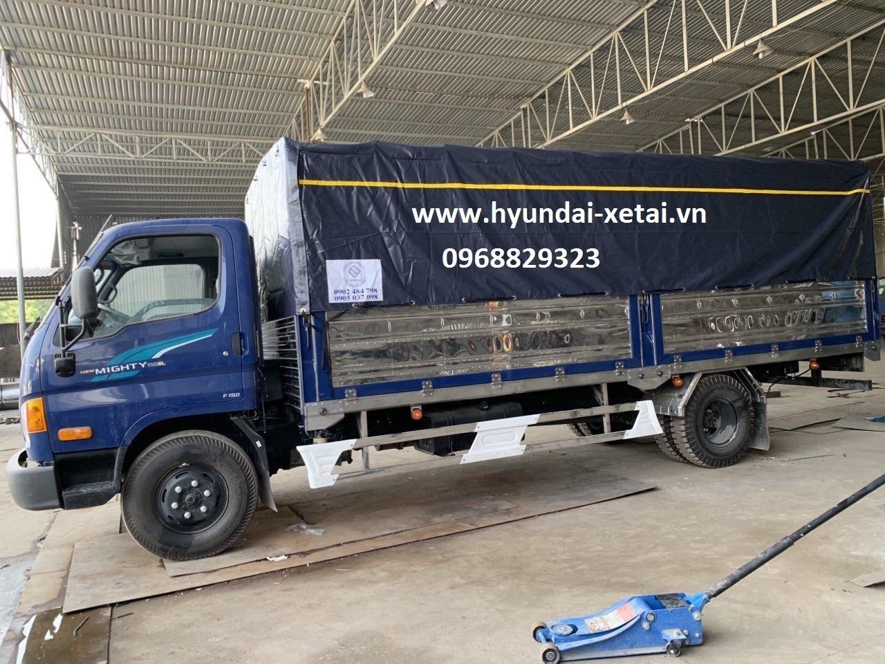 Hyundai 7 Tấn HD110SL dài 6~M - Thùng bạt