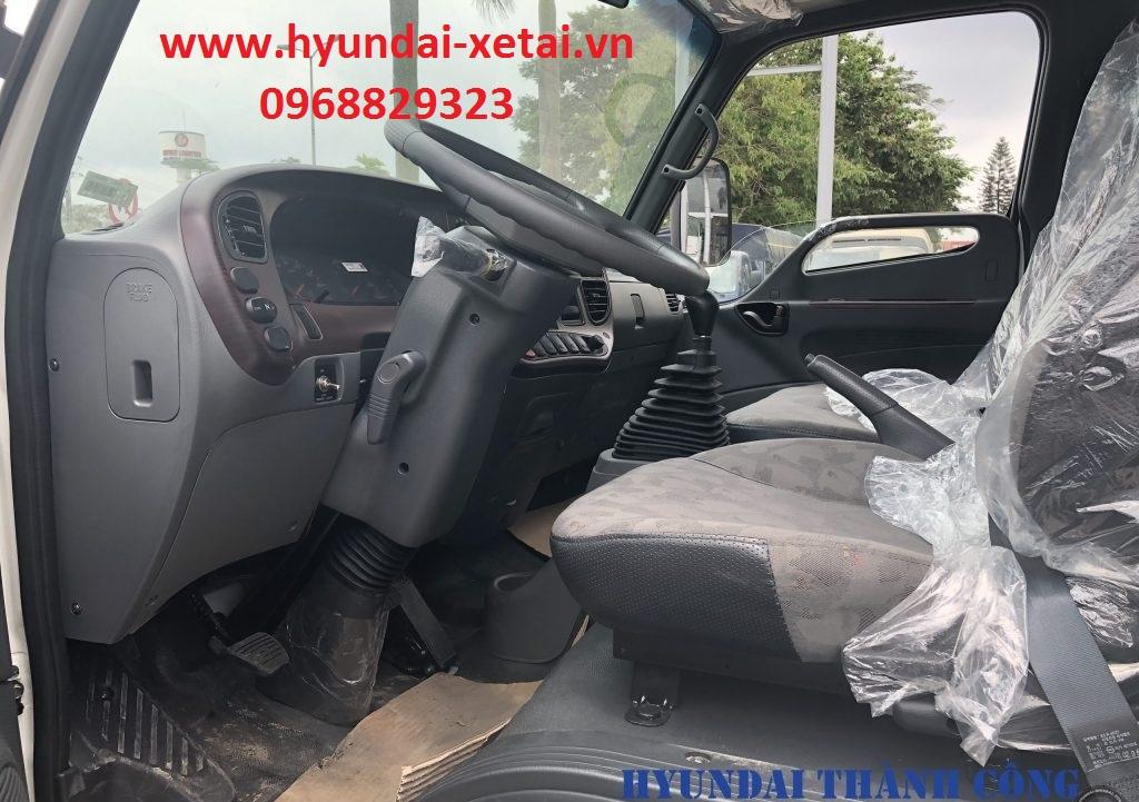 Thùng Mui Bạt Hyundai 7Tấn HD110SL