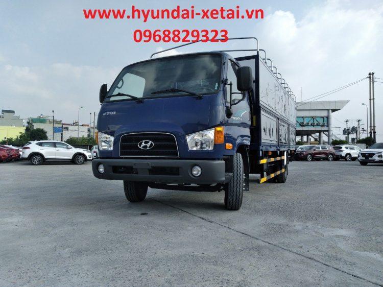 Xe 7 tấn Hyundai 110XL thùng 6m25 sản xuất 2021