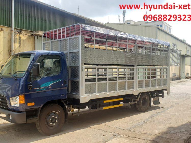 xe tải chở gia súc hyundai 7 tấn * mighty 110sl thế hệ 2021